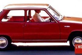 Renault 5, mignonne, commercialisée en 1972